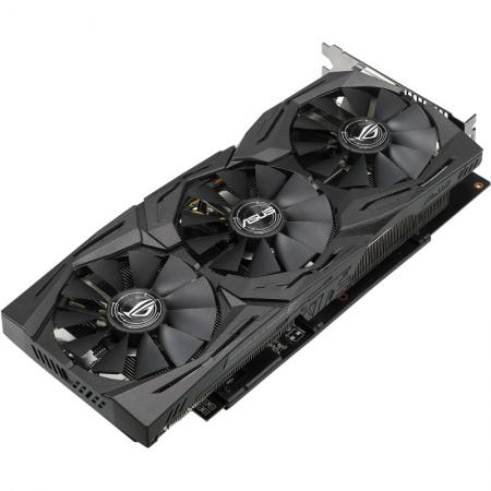 Placa video ASUS Radeon ROG Strix RX 580 Gaming ROG-STRIX-RX580-O8G-GAMING, 8GB, DVI, HDMI*2, DP*2