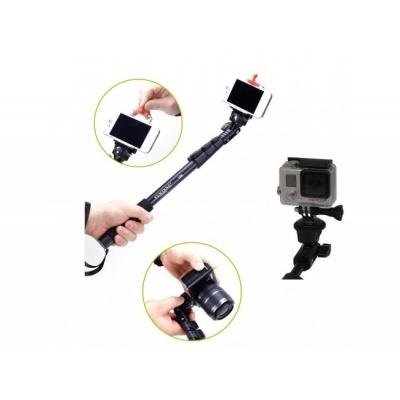 Monopied Selfie, 3 tronsoane, Compatibil GoPro şi SJ4000