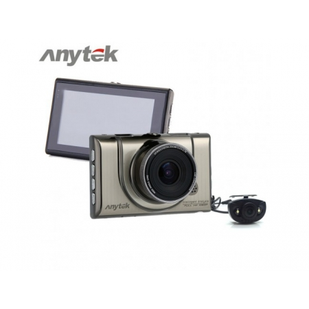 Camera Auto Anytek Full HD, A100H 1080p, G sensor, 170 grade, Detectie la miscare