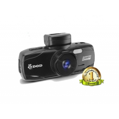 DOD LS460W Cameră auto Full HD, GPS, Lentilă Sharp 6G, Senzor G tridimensional, WDR, SOS + Card 32GB Kingston class 10