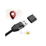Cablu GSM USB de incarcare si transfer date,dispozitiv de ascultare/localizare GPRS si Tracker,compatibil cu iPhone,Android si Windows CE