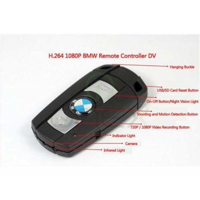 Camera Ascunsa In Cheie Auto BMW