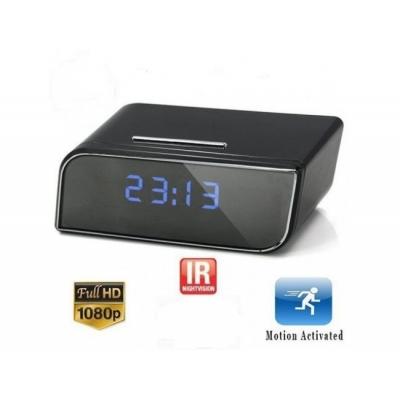 Ceas de birou, cu cameră spion Full HD 1080 P, senzor de miscare si NIGHT VISION + card 32 gb gratuit!