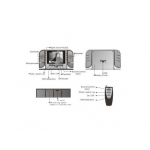 Cameră Ascunsă în Ceas de birou HD 720P cu Night Vision + Card 16GB Gratuit