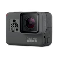 GoPro HERO 6 Black + Card 64GB Gratuit, 4K@60fps, Comenzi Vocale, Touch Zoom