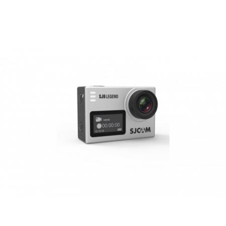Cameră Sport SJCAM SJ6 Legend + Baterie Suplimentara, 4K, Senzor Panasonic, WiFi, Ecran Tactil, Stabilizator, Rezistent la apă