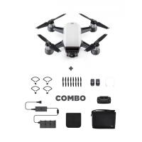 Drona DJI Spark, Control Gesturi, 12MP - Pachetul Combo + Card 16GB Cadou