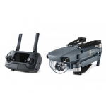 Pachet DJI Mavic Pro si DJI Goggles - Drona Portabilă cu Gimbal 3D şi cameră 4K, 12MPx + Husa DJI si Card 64GB cadou