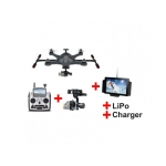 Walkera Scout X4 - Dronă cu Stabilizator pe 3 axe, Cameră Full HD + Acumulator suplimentar