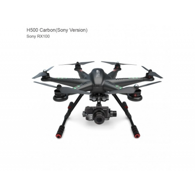 Walkera Tali H500 - Hexacopter, Radiocomandă FPV Devo F12E, Gimbal G-3S + Cameră Sony DSC-RX100II