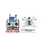 """Walkera QR X350PRO – Drona cu Radiocomandă Devo F12E, FPV 5"""", Cameră FullHD 1080P şi Gimbal Stabilizator 3D"""