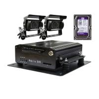 Sistem DVR AUTO G40 + 2 Camere IR + HDD 1TB, Video HD 1280x720P, 4 Canale