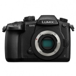 Aparat foto profesional Panasonic LUMIX DMC-GH5 Body, Full frame, Foto 6K, 20MPx, Video 4K