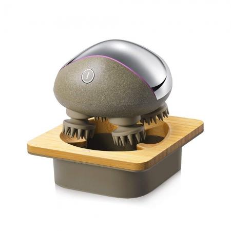 Aparat de masaj portabil pentru scalp, gat si corp iScalp Mini Breo