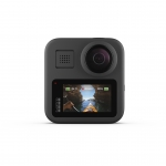 GoPro Hero MAX 360, 16.6MP, 5.6K30, Max HyperSmooth, Touch screen, 6 microfoane, Live streaming 1080p, Rezistent la apă și praf