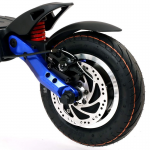 Trotineta electrica Kaabo Mantis 60V 18.2AH, motor 1500W, frane semi-hidraulice, 50km/h, Autonomie 35-70km + Casca de protectie smart - LIVALL BH51T Neo