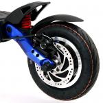 Trotineta electrica Kaabo Mantis 60V 18.2AH, motor 1500W, frane semi-hidraulice, 50km/h, Autonomie 35-70km + Gentuta CADOU