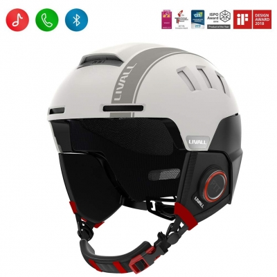 Casca smart pentru Ski RS1 - LIVALL, Bluetooth, Push-to-Talk, Hands free, Anti-loss Alarm, Fall Detection