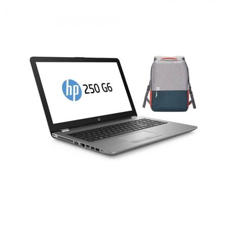 Laptop Notebook HP 250 G6, Procesor i5, 256GB SSD, 8Gb DDR4, Windows 10 PRO + Rucsac OnePlus Gear