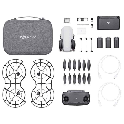 DJI Mavic Mini Fly More Combo, Gimbal 3 axe, 2.7K video, Autonomie 30min, 249g