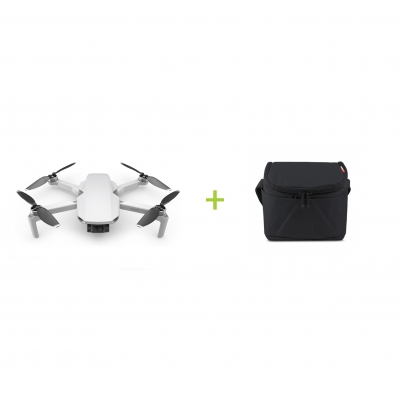 DJI Mavic Mini + Geanta mica Manfrotto Stile+