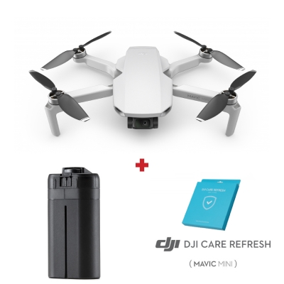 DJI Mavic Mini + Asigurare DJI Care Refresh + Baterie inteligenta