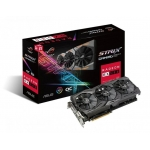 Placa video ASUS Radeon ROG Strix RX 580 Gaming ROG-STRIX-RX580-O8G-GAMING, 8GB, DVI, HDMI*2, DP*2