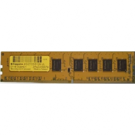 Memorie Zeppelin DDR4, 4GB, 2133 MHz, CL15