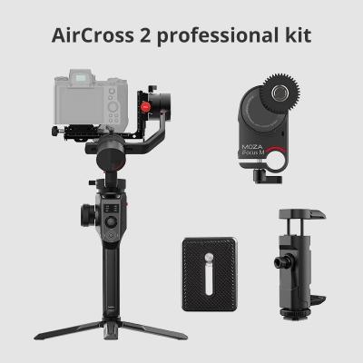 Stabilizator Moza AirCross 2 Professional Kit pentru DSLR, Mirrorless, Pocket Cinema Camera