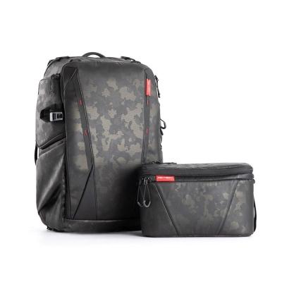 Rucsac pentru echipament foto sau drona, OneMo, 25L + geanta de umar PGYTECH (Olivine Camo)
