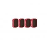 Set 4 filtre ND8, ND16, ND32, ND64 PL PGYTECH pentru Osmo Pocket