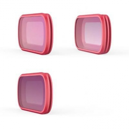 Set 3 filtre pentru Osmo Pocket (CPL - ND8 - ND16)