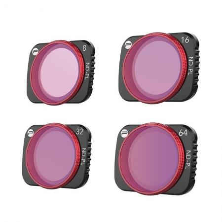 Set Filtre ND-PL PGYTECH pentru DJI Mavic Air 2 (NDPL8, 16, 32, 64 Professional)