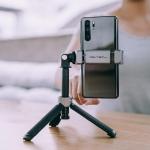 Vlog Phone Extension Pole Tripod pentru smartphone
