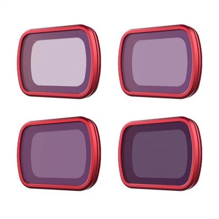 Set 4 filtre ND (ND8, ND16, ND32, ND64) Professional PGYTECH pentru Osmo Pocket / Pocket 2