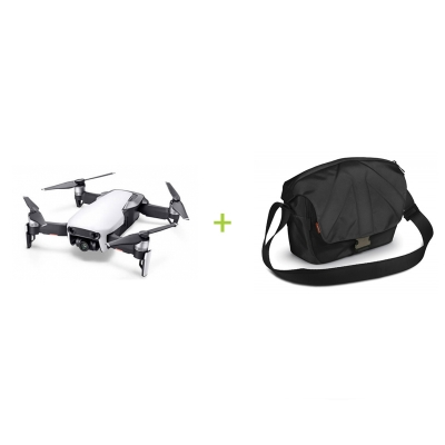 Drona DJI Mavic AIR + Geanta mare Manfrotto Stile