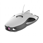 Drona subacvatica Power Ray, camera 4K UHD, 12MP, viteza de navigare 4 noduri, autonomie 4h, pachetul Explorer - Power Vision