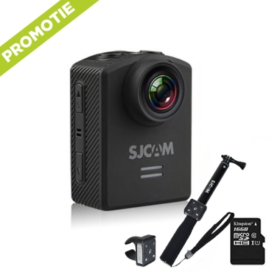 SJCAM M20 + monopied si card 16GB gratuit