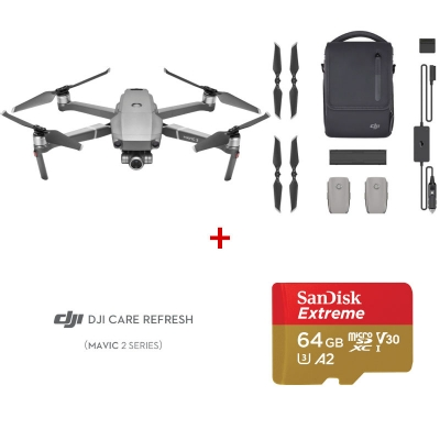 DJI Mavic 2 Zoom Fly More Combo + DJI Care Refresh + card Sandisk Extreme 64GB
