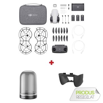 DJI Mavic Mini Fly More Combo (Resigilat) + Charging Base + Lens hood cadou