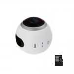 SJCAM SJ360, Camera sport Video si Foto 360 grade, Senzor 2K Sony, 12MP, Wifi + Card 16gb