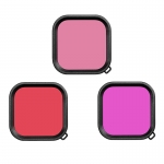 Set filtre Light Red, Red, Magenta pentru GoPro Hero8 Black