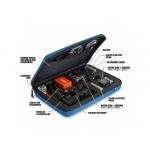 POV Case GoPro Large - geantă protecţie şi transport camere HERO albastru