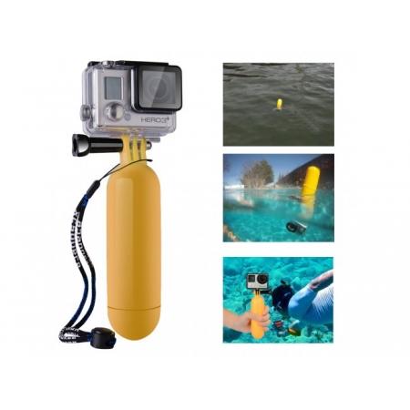 Mâner Plutitor - Monopied Flotor, Compatibil GoPro şi SJ4000/ SJ5000, Xiaomi Yi