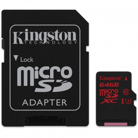 Card de memorie Kingston microSDXC 64GB