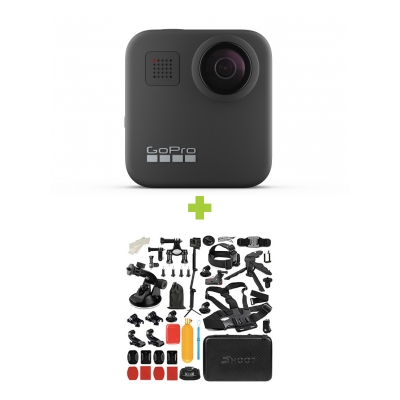 GoPro Hero MAX 360 + MEGA Pachet de Accesorii SHOOT