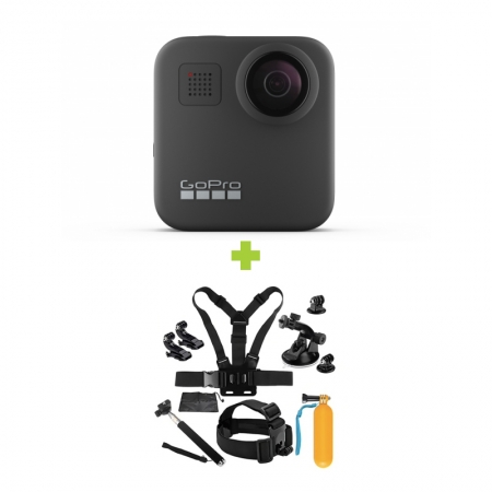 GoPro MAX 360 + MINI Pachet de Accesorii SHOOT