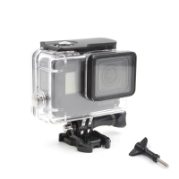 Carcasa Waterproof Telesin transparenta pentru GoPro Hero 5/6