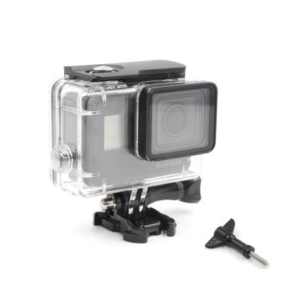 Carcasa Waterproof Telesin transparenta pentru GoPro Hero 5/6/7