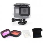 Set filtre Magenta/Red Telesin pentru GoPro Hero 5, 6, 7